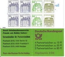 GERMANIA 1982 LIBRETTO CASTELLI  MH 24  NUOVO COMPLETO  MNH ** (8)