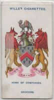Worshipful Company Of Grocers Of London Spices Weights  100+ Y/O Trade Ad Card
