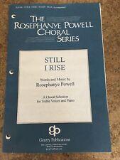 Still I Rise SSAA Sheet Music By Rosephanye Powell