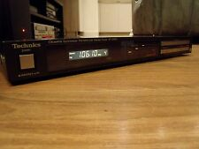 TECHNICS ST Z400L  HIFI STEREO TUNER IN MINT CONDITION EXCELLENT   !!