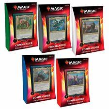 Magic The Gathering MTG Ikoria Lair of Behemoths Commander Decks Set of 5