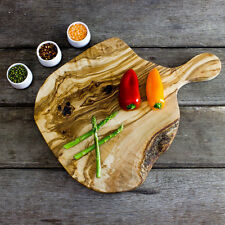 Rustic Olive Wood Chopping / Serving / Cheese Board - Length 40cm (F2CPH40)