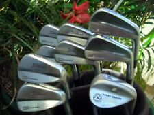 9PC TITLEIST Golf 712 MB Irons Project X 6.0 Stiff 3UP Club Set 3-P Vokey Wedge