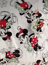 Disney Mickey Mouse Christmas Ladies T-shirt Medium 12/14 New
