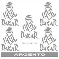 Adesivo Logo Paris Dakar argento  - adesivi/adhesives/stickers/decal