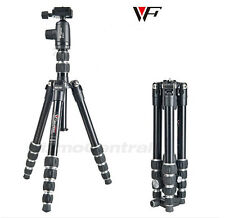 Professional Fancier Weifeng Wf-861 Ball Head Screw Folding Camera Tripod Bag