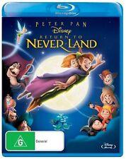 Peter Pan - Return To Never Land ( Blu-ray )