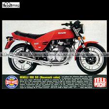 #TP Fiche Moto BENELLI 900 SIX CYLINDRES (1979 900 SEI)