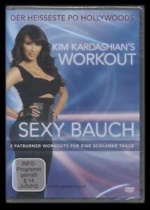 DVD KIM KARDASHIAN WORKOUT - SEXY BAUCH - FITNESS - SPORT - FATBURNER TAILLE *