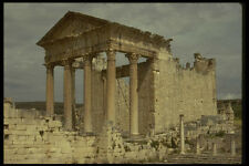 293079 Tunisia Roman Temple A4 Photo Print