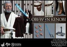 Hot Toys Star Wars Obi-Wan Kenobi Episode IV New Hope 1/6 Scale Figure New Jedi