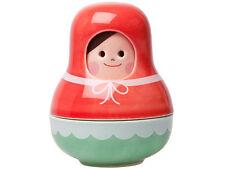 Kikkerland Little Red Riding Hood Porcelain Nesting Salt & Pepper Shaker Set