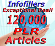 120000 PLR Articles Private Label Rights Unique Content