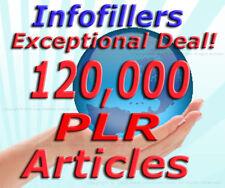 120000 PLR Articles Private Label Rights Unique Content