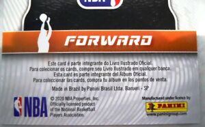 2019-20 Panini BRAZIL NBA stickers XL ADRENALYN CARD - You Pick Player RARE