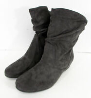 $55 XAPPEAL Womens Carney Shin High Slouch Boot Shoes, Grey, US 11