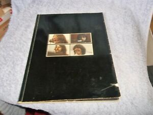 THE BEATLES GET BACK BOOK (FULL GLOSS) FROM THE LET IT BE ALBUM BOX SET AWESOME