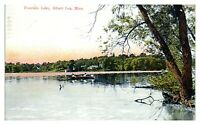 Early 1900s Fountain Lake, Albert Lea, MN Postcard *5N(2)15
