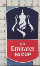 Angleterre Patch Badge officiel Emirates FA CUP maillot Foot English 2016 a 2020
