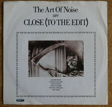 """The Art Of Noise, Close (To The Edit) 7"""", ZTT Records"""