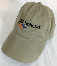 USF Holland Tan Baseball Cap K-Products Fully Adjustable 100% Cotton