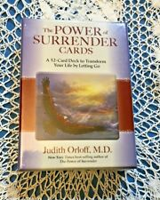 The POWER OF SURRENDER CARDS 52 CARD DECK Transform Your Life by Letting Go. J.