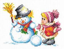 Cross Stitch Kit Winter fun