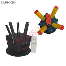 2pcs/lot Wireless remote control 6 Cues cold fireworks firing system rotate