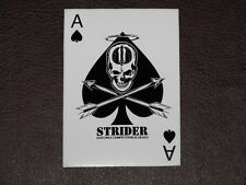 Original Logo Strider Knives Ace Of Spades Playing Card Sticker Decal