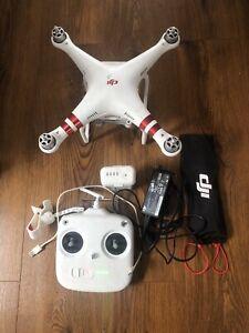 DJI Phantom 3 Standard Drone -  White