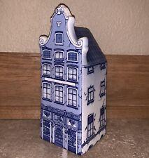 Delft Blue 1640 Hand-Painted #12 Wijn House Dutch House Antique Holland Vintage