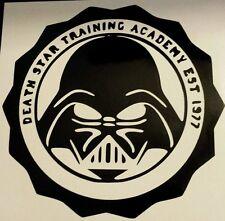 Vinyl Decal Sticker..Death Star Training  Academy..Funny..Car Truck Window