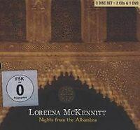 Nights from the Alhambra (DCD + DVD) von Mckennitt,Loreena | CD | Zustand gut