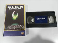 Alien the 8 Passenger Tape Vhs Tape Spanish Sigourney Weaver Ridley Scott