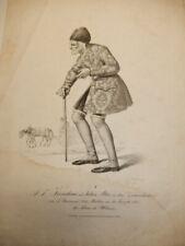 Schauspieler F.J.Korntheuer Wien, Lithographie von Josef Kriehuber (1801-1876)