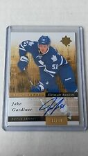 2011-12 ULTIMATE COLLECTION JAKE GARDINER Rookie Auto #146 Maple Leafs 38/99 (C)