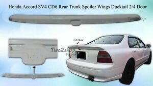 FRP Honda Accord CD6 SV4 H22A 2/4 DR JDM Flush Rear Trunk Spoiler Wing 94-95 NEW