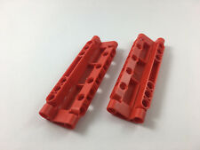 LEGO® Technic, Red Panel Curved 11 x 3 with 10 Pin Holes Part 11954
