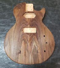 Les paul junior style Tele Hybrid guitar. lp tl body. Unfinished guitar body.