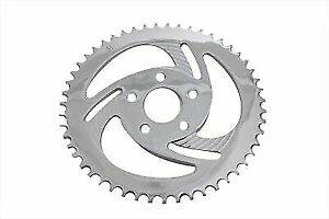 Rear Sprocket Chrome Lazer 51 Tooth for Harley Davidson by V-Twin
