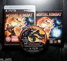 Mortal Kombat (Sony PlayStation 3, 2011) PS3 - FREE POST
