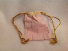 "Pink gold arrows backpack/Bag Wellie Wishers American Girl 14"" doll clothes fit"