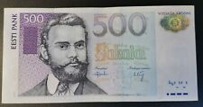 Estonia YEAR 2000 500 Krooni BE VF Estonia pick 83a