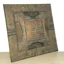 Antique Japanese Square Incense Burner Holder – Nambu Tekki Cast Iron