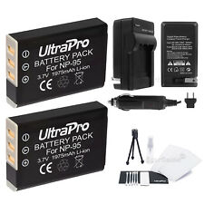 2x NP-95 Battery + Charger + BONUS for FujiFilm X-S1, 3D W1, F30, F31fd, X100