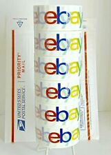 6 Rolls Ebay Brand Color Logo Shipping Amp Packing Tape 75 Yds X 2 New Sealed