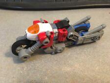 Vintage 1985 Bandai Transformers GO BOTS Motorcycle CY-KILL Robot