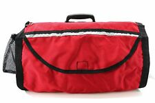 "Pet Dog Crate Cage Cover Kennel 19"" Red Emergency Portable Reflective Stripes"