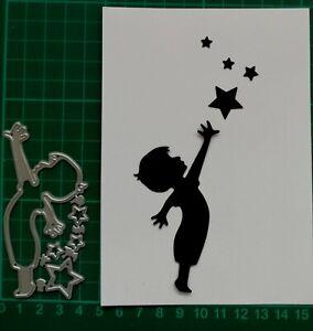 Stanzschablone Weihnachten - Sternensammler