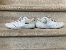 New listing Nike Cheerleading sneakers, white, size 9.5, used 1 cheer season only